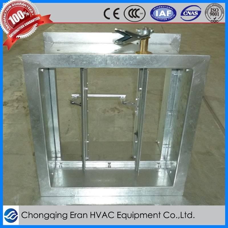 HVAC manual air volume adjustable damper
