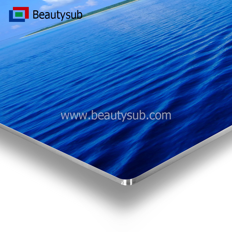 High definition sublimation Aluminum sheet