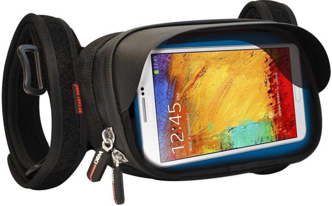 So Easy Rider  Waterproof Mount, Anti-vibration Case, Mount Handle Bar Holder for Smartphone phablet