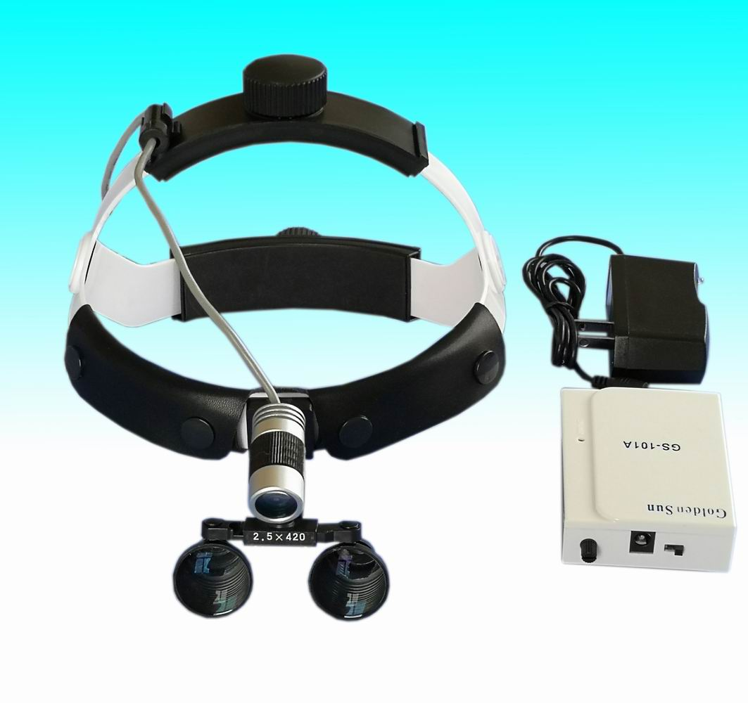 surgical Portable LED headlamp magnifier 2.5x