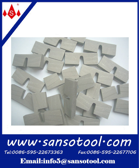 Diamond Sintered Segments for marble / granite / limestoin