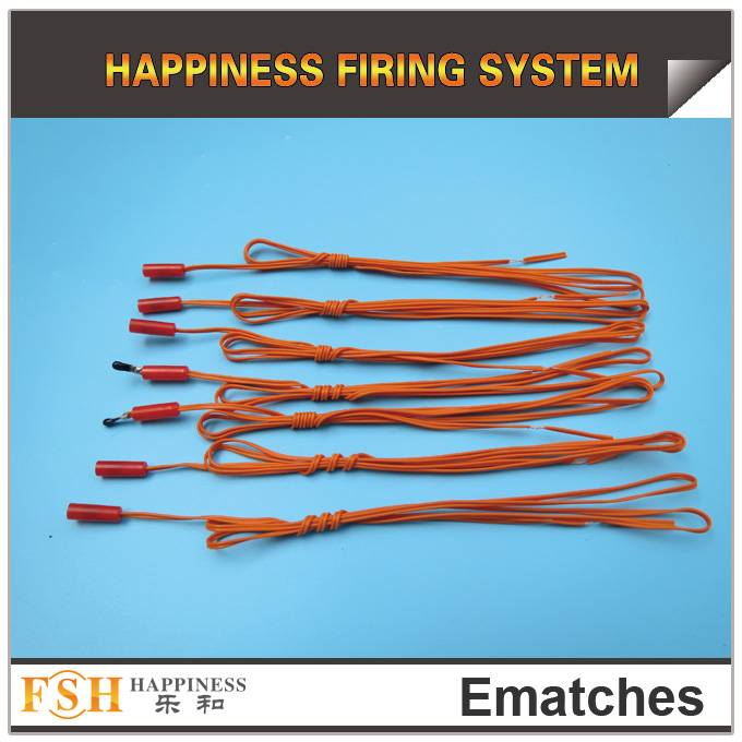 Liuyang Happiness Fireworks 1M Display Igniter, e-matches, electric igniter, high quality with low p