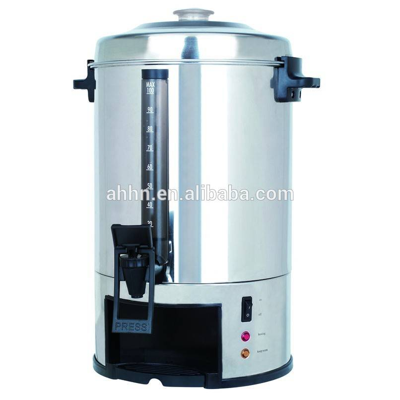 Electric Stainless Steel multi-capacity electric commercial coffee machine, industrial catering urn