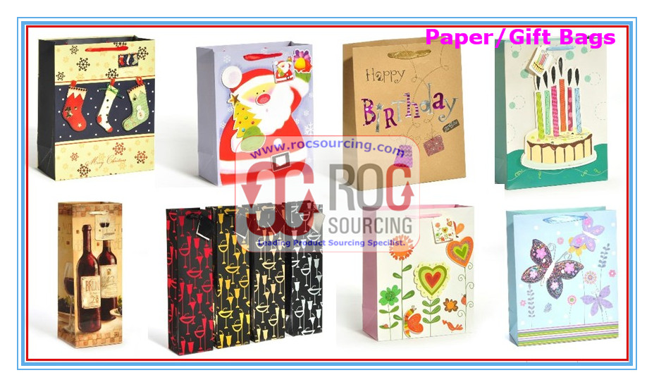 Paper bag Wine bag paper bag Gift bag Wine bag Kraft bag Paper packing