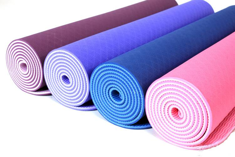 Extra Thick and Long Comfort PRINTED Yoga/Exercise Mat
