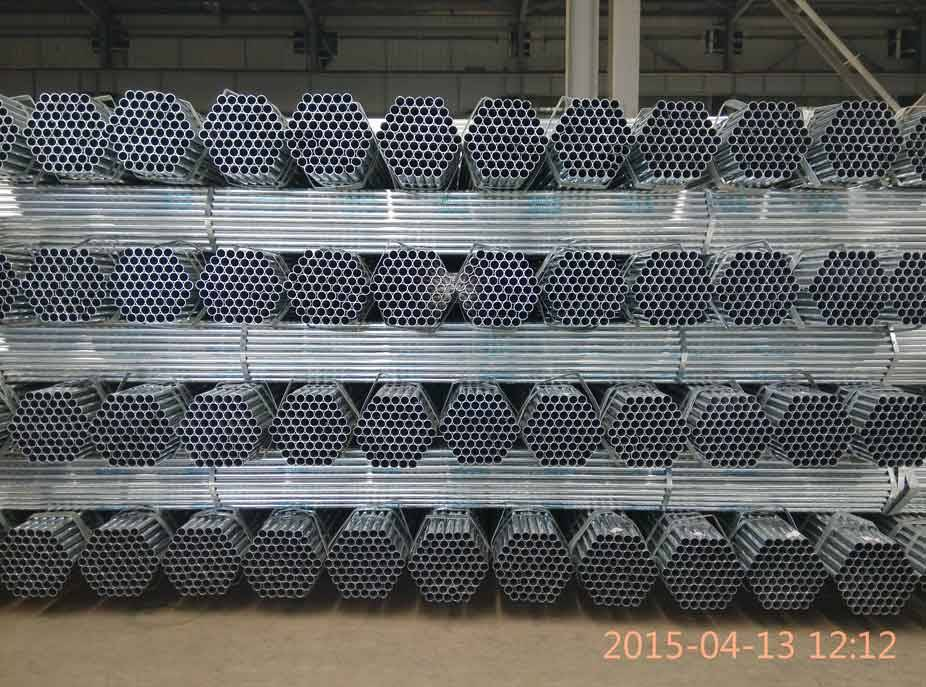 "1/2""-10"" pre galvanized round pipe in China Dongpengboda"