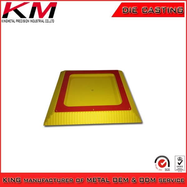 Casting aluminum powder coated LED lighting housing