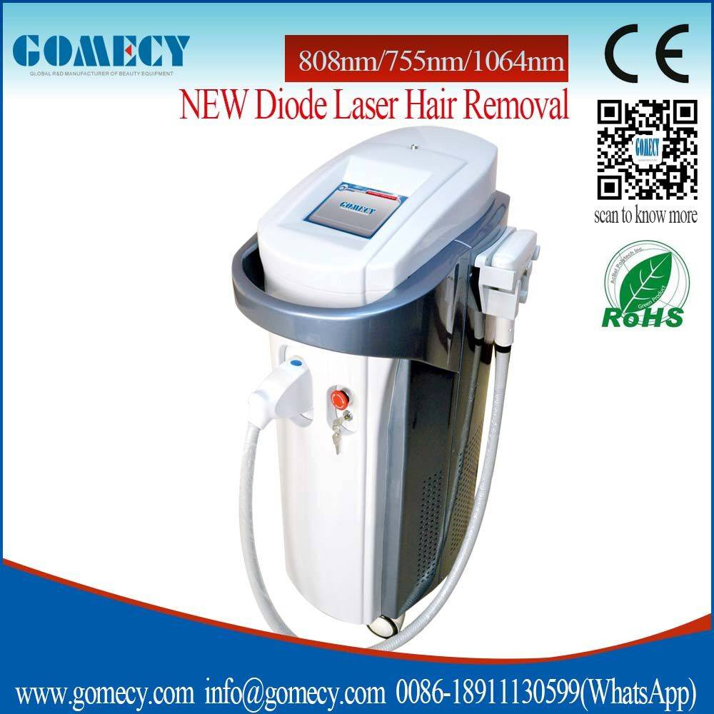 New technology! 755nm diode laser module 808nm diode laser device 1064nm diode laser hair removal ge