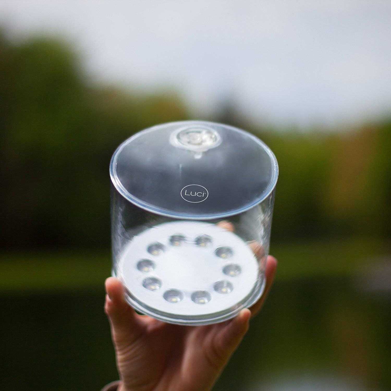 LuminAID PackLite Spectra Colour Changing Solar LED Camping Lantern