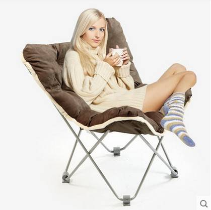 Leisure home folding portable computer chair nap butterfly chair CY - 117