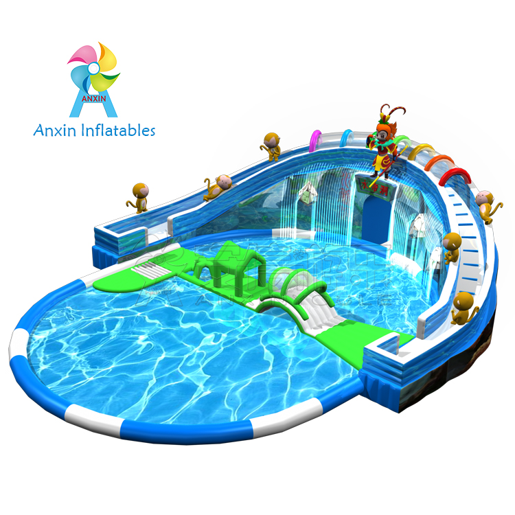 Cheap Price 0.9MM PVC Material Kids Inflatable Swimming Pool For Sale