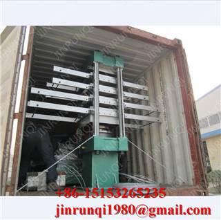 rubber tile making machineVulcanizing press(Rubber Tile Forming Machine/Rubber Tile Molding Machine)