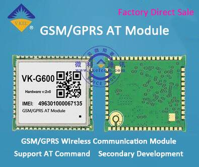 VKG600 GSM/GPRS Module Wireless Communication Module Support AT Command Secondary Development Wholes
