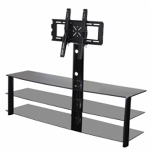 tranditional style glass tv stand
