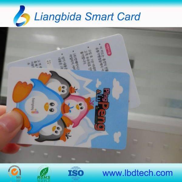 Manufacturer For print plastic card/print pvc card