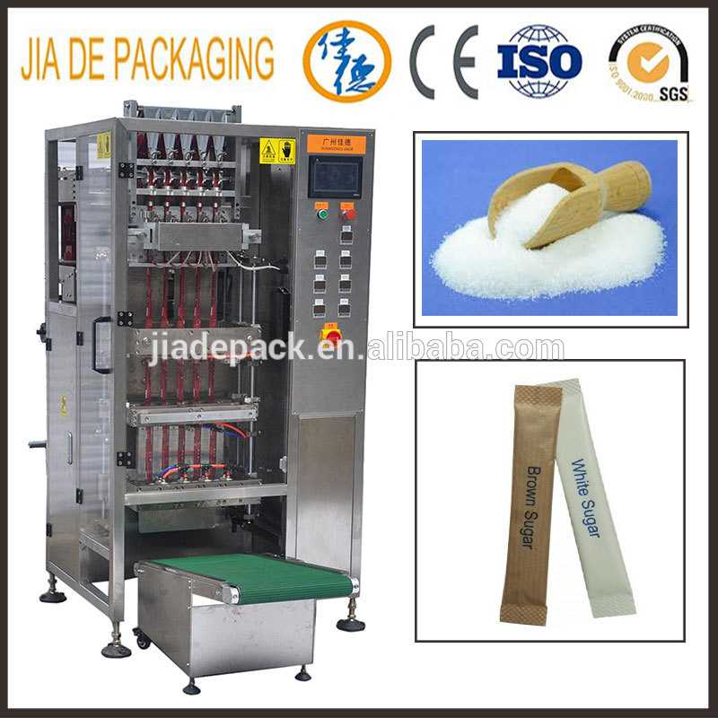 multi lane sugar sachet stick packing machine