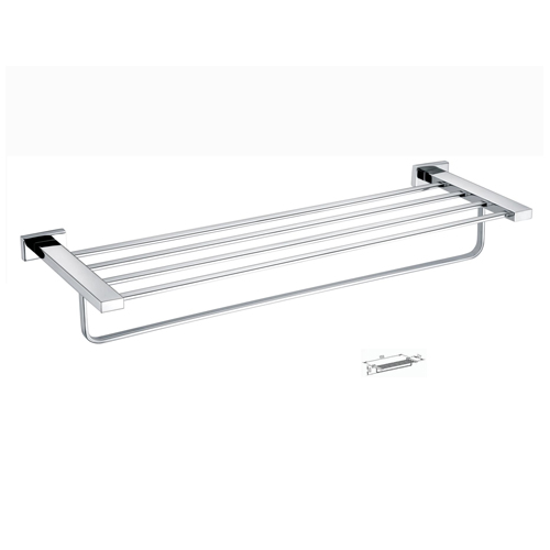 Fashion 304 Stainless Steel Wall Mounted Bathroom Towel Bar
