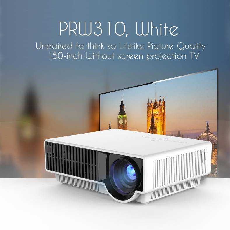 simplebeamer PRS310 led home theater 2500 ansi lumens projector