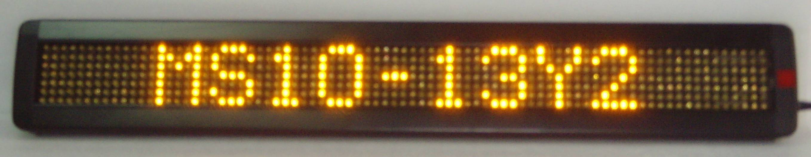 780 LED moving message sign ( Y lamp)