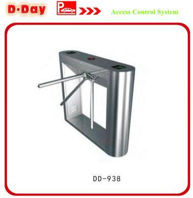 Circular Arc Angle Barrier Access Control System Tripod Turnstile