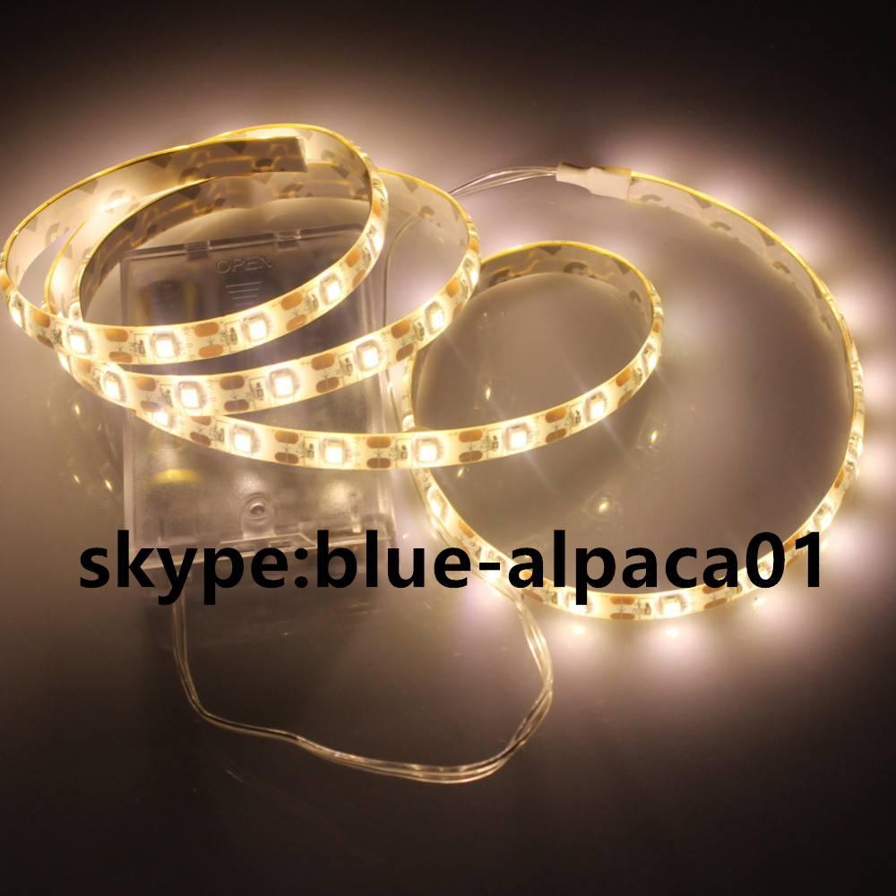 battery powered flexible strip light