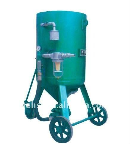 Pressure sandblasting pot Machine 4720mp