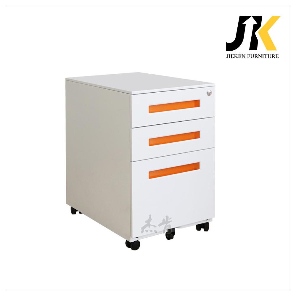 3 drawer under desk mobile file cabinet