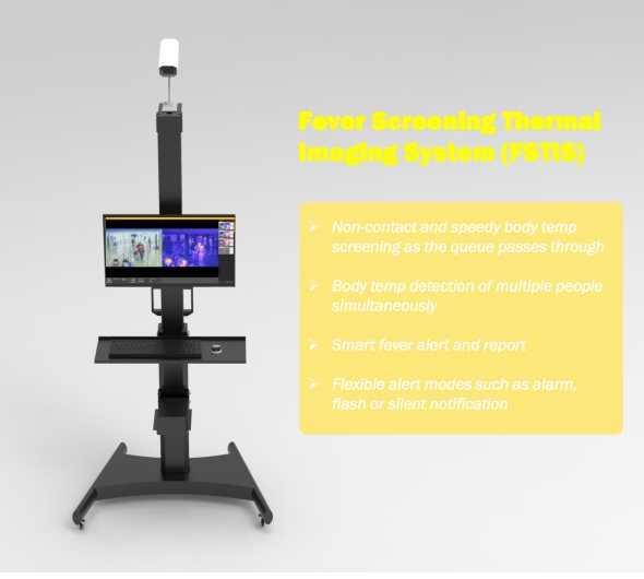 Fever Screening Thermal Imaging System (Commercial Grade)