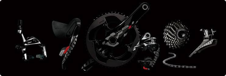 2012 2013 SRAM RED EXOGRAM YAW 10 SPEED TT TRIATHLON TIME TRIAL GROUP SET