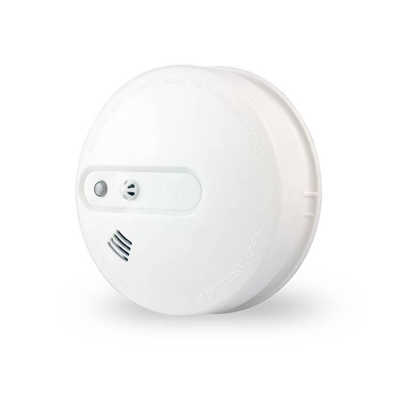 Wireless Smoke and Heat Detector