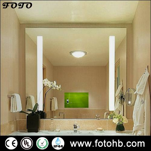 LED Backlit Mirror with TV Function Option