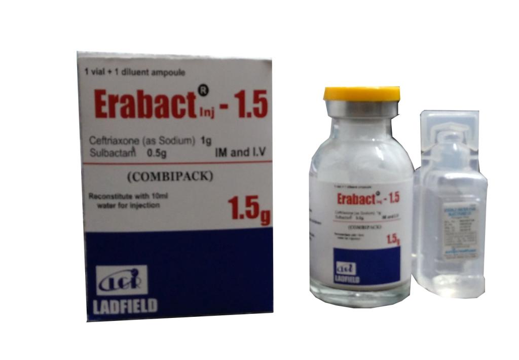 Ceftriaxone Sulbactam Injection