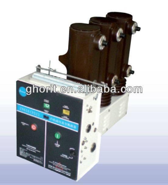 ZN63 (VS1)-12 Series Side Installation Type Indoor High Voltage Vacuum Circuit Breaker