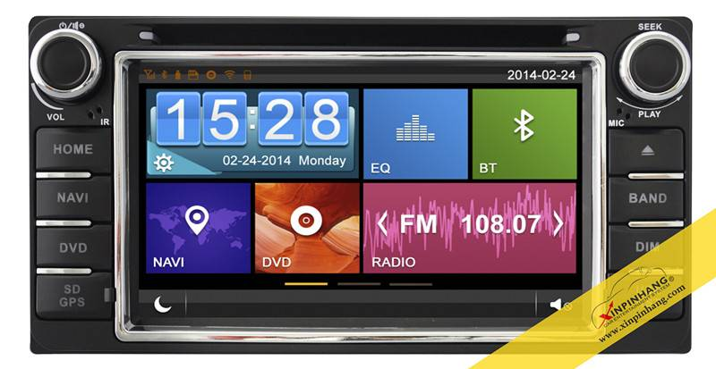 Capacitive touch screen special car dvd for YOYOTA Series with 3G/WIFI/DVR/OBD/ Mirror Link/Audio Co