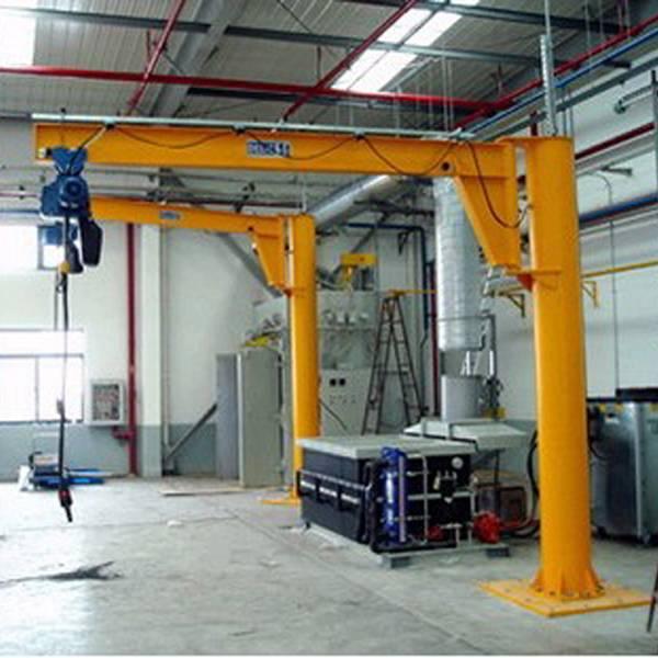2 ton free standing jib crane