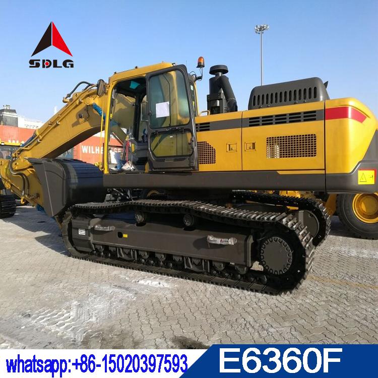 SDLG 36T hydraulic crawler excavator E6360F with volvo technology