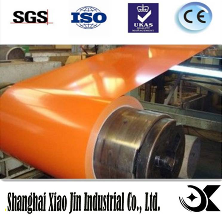 color coated coil galvanized steel ppgi