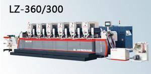 Intermittent Rotary Label Printing Machine
