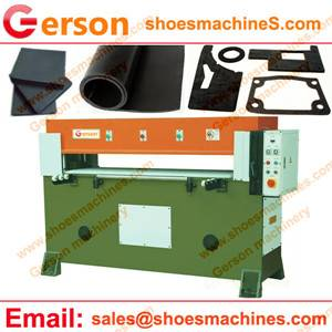 Air Conditioning Insulation Rubber Foam Sheet Rlydranlic Cutting Machine