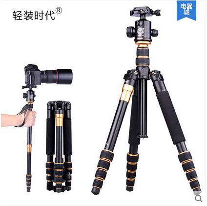 Digital aluminum camera tripod easy for micro-distance shooting