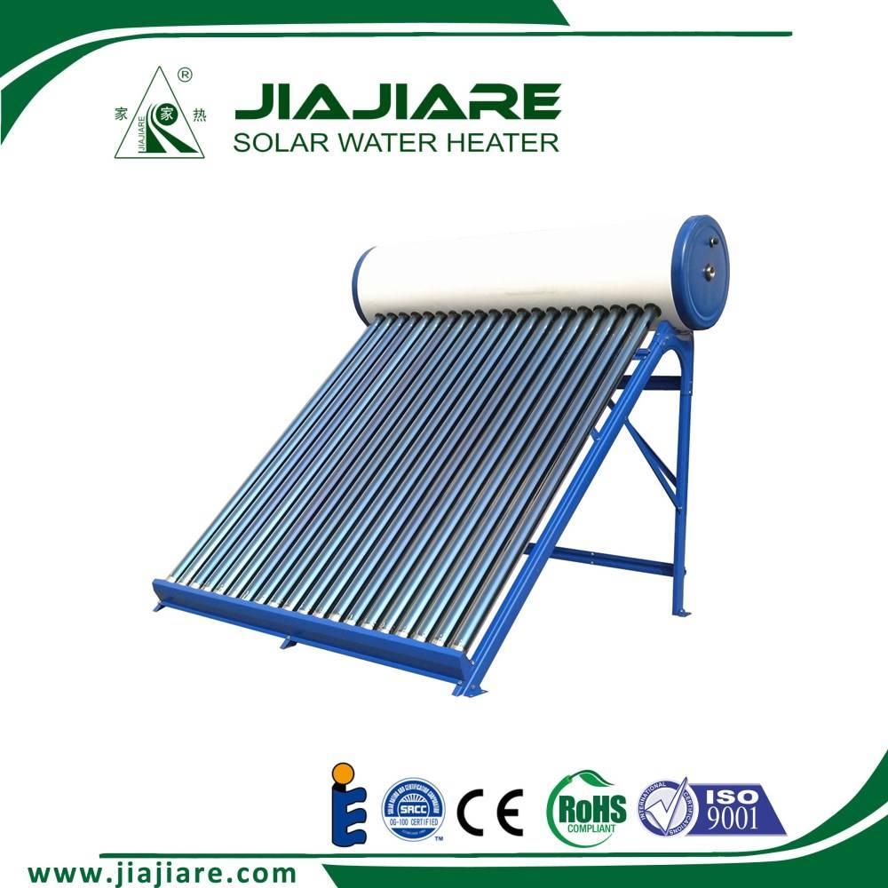 Jiajiare 2016 non pressure vacuum tube solar water heater system