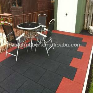 outdoor playground rubber flooring