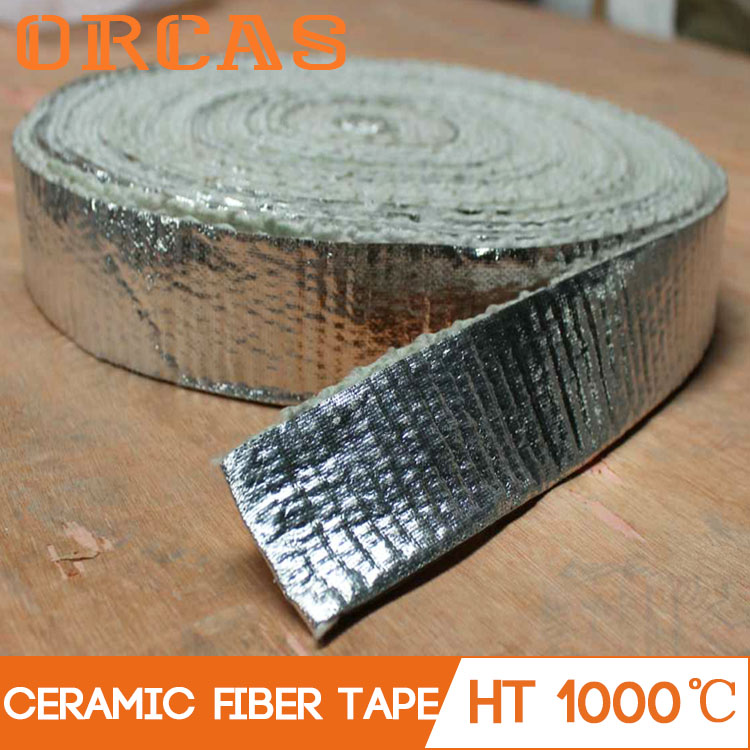 China insulation tape ceramic fiber tape with aluminum foil