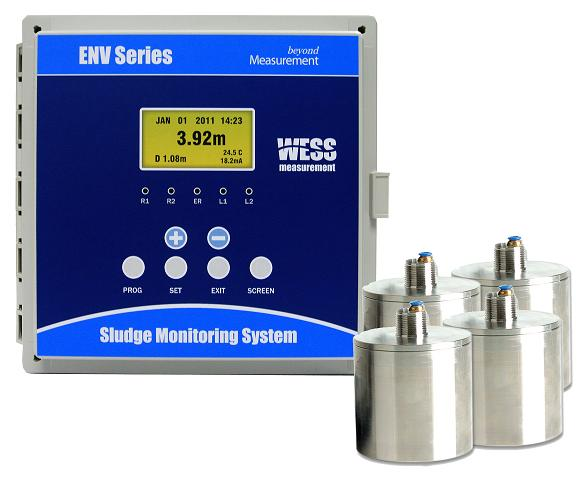 Ultrasonic Sludge Blanket Level Meter (ENV100 Series)