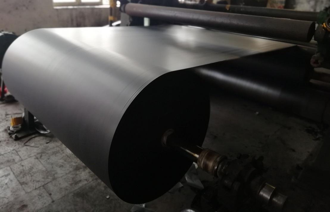 Abrasive black paper