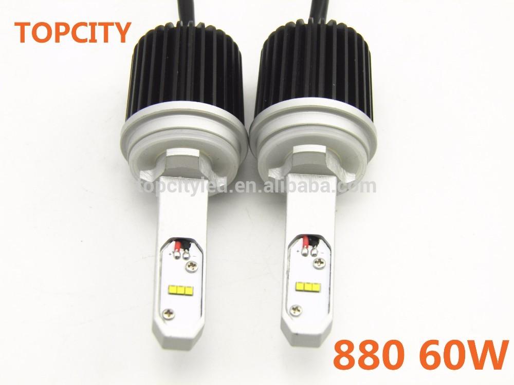 Car 880/881 led headlight automobile head lamps canbus led car head lamp