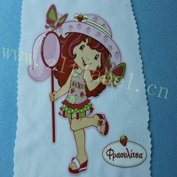 personalized clothing heat transfer label for t-shirts