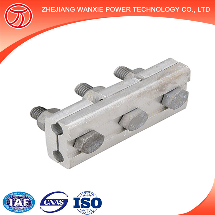 Forged Bolted Guy Cable Clamp parallel groove clamp for ADSS Cable
