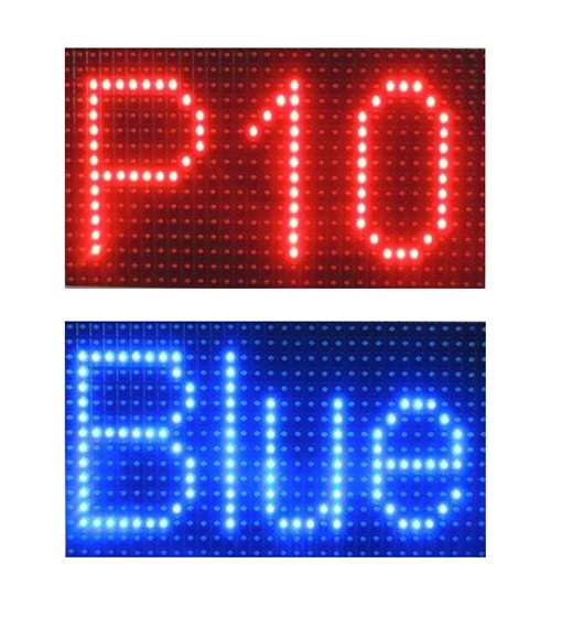 single color dip smd dot matrix p6 p8 p10 text message led sign module DIP outdoor
