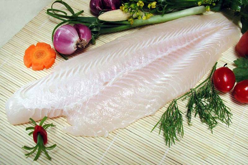 Pangasius fillet (well trimmed)